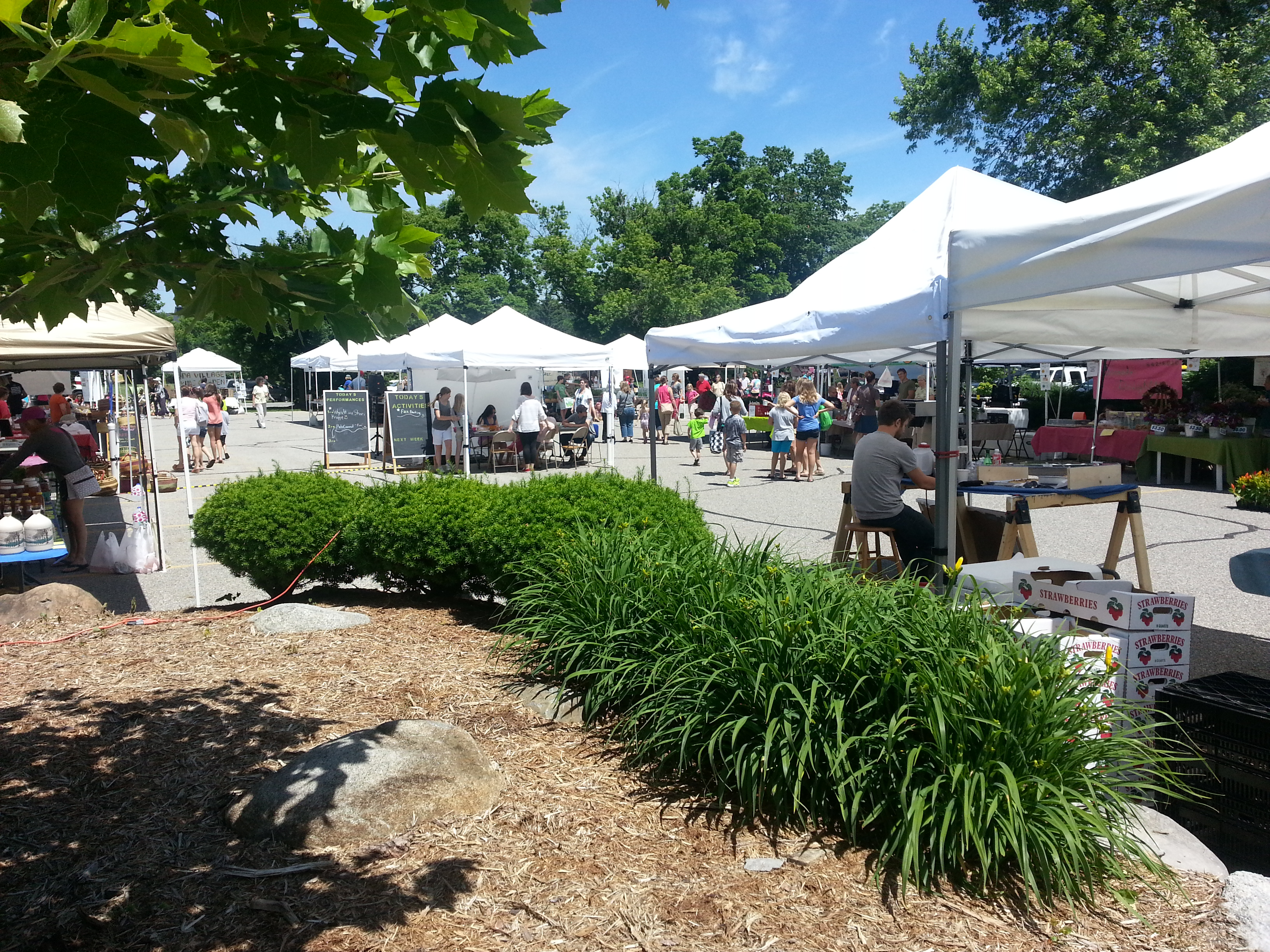 Farmers Market Began Its 2009 Season >> About the Market | Ada Farmers Market